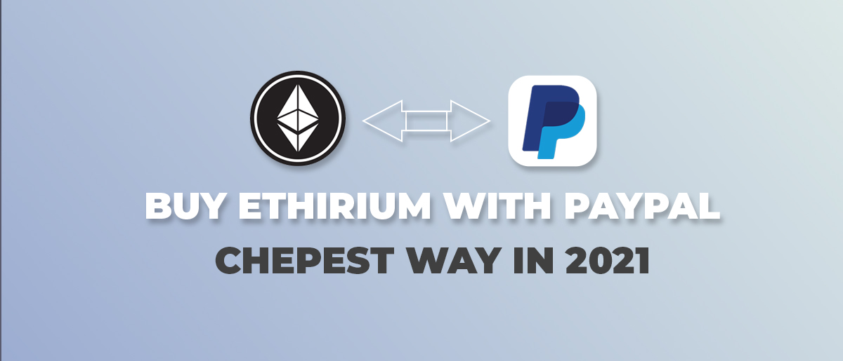 Buy ethereum with paypal